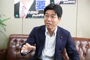 「ネット選挙解禁は不可避の流れ」と今後の意欲を語る田嶋氏
